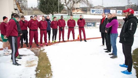 С благослов беше сложен старт на зимната подготовката за втория