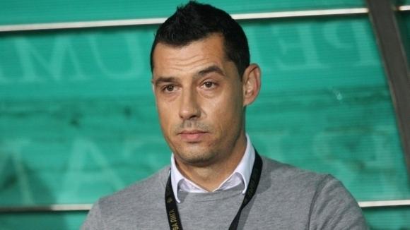 Старши треньорът на Берое Александър Томаш говори пред клубната телевизия
