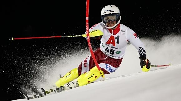 Снимка: Алберт Попов не спира да ни изненадва, зае 13-о място след първия манш в Шладминг