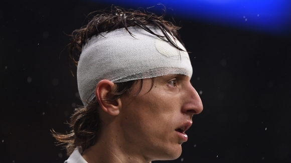 """Носителят на """"Златната топка"""" Лука Модрич няма да играе тази"""