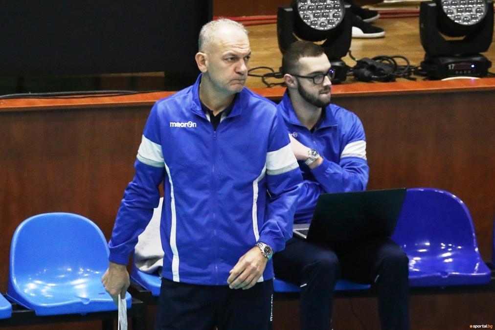 Треньорът на волейболния Монтана Даниел Пеев коментира победата над ЦСКА