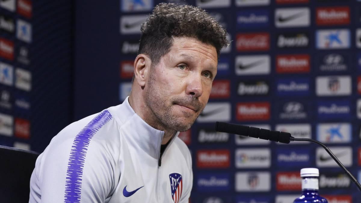 Треньорът на Атлетико Мадрид Диего Симеоне се изказа ласкаво за