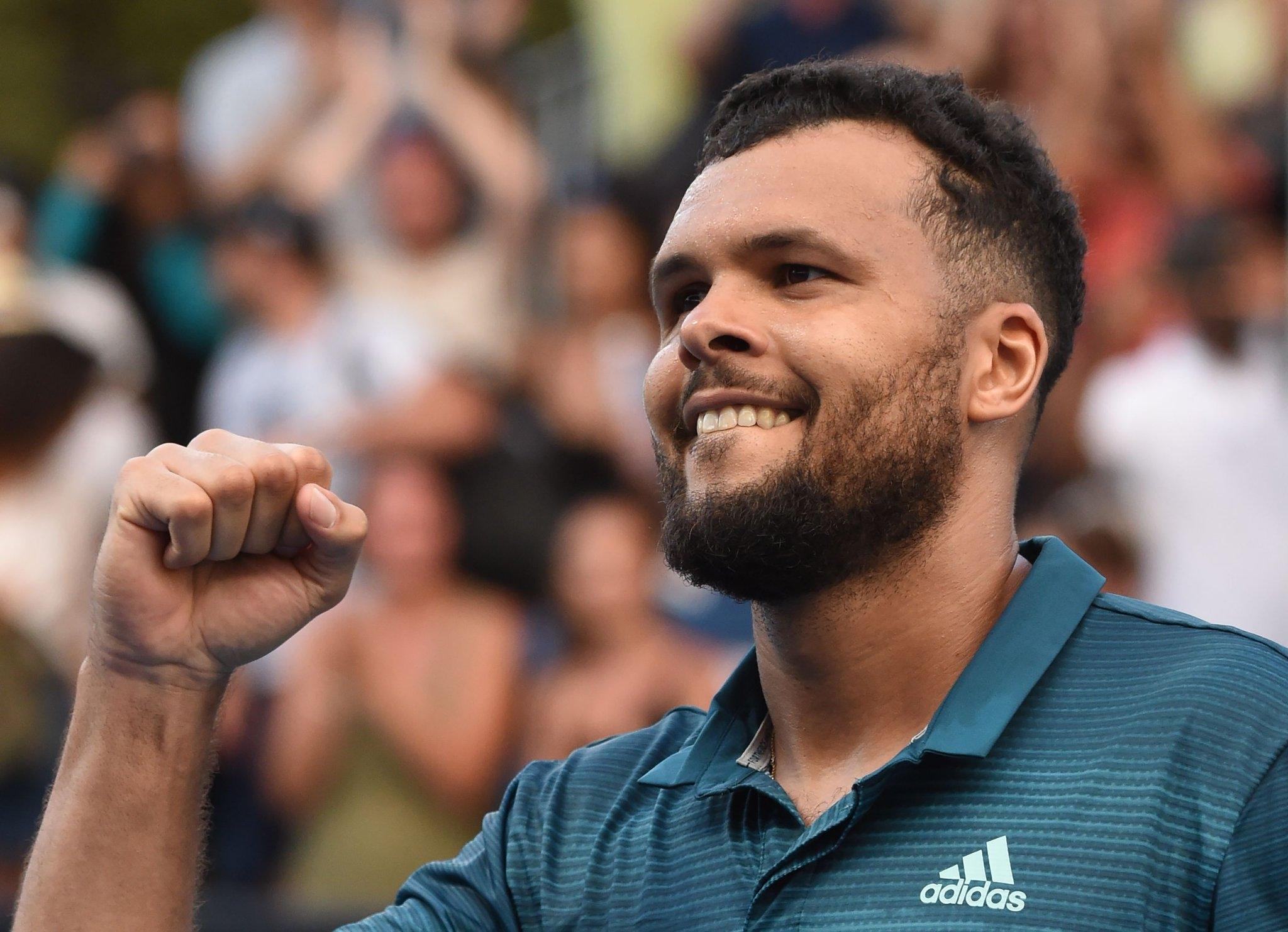 Жо-Вилфрeд Цонга спечели титлата на турнира по тенис в Монпелие,