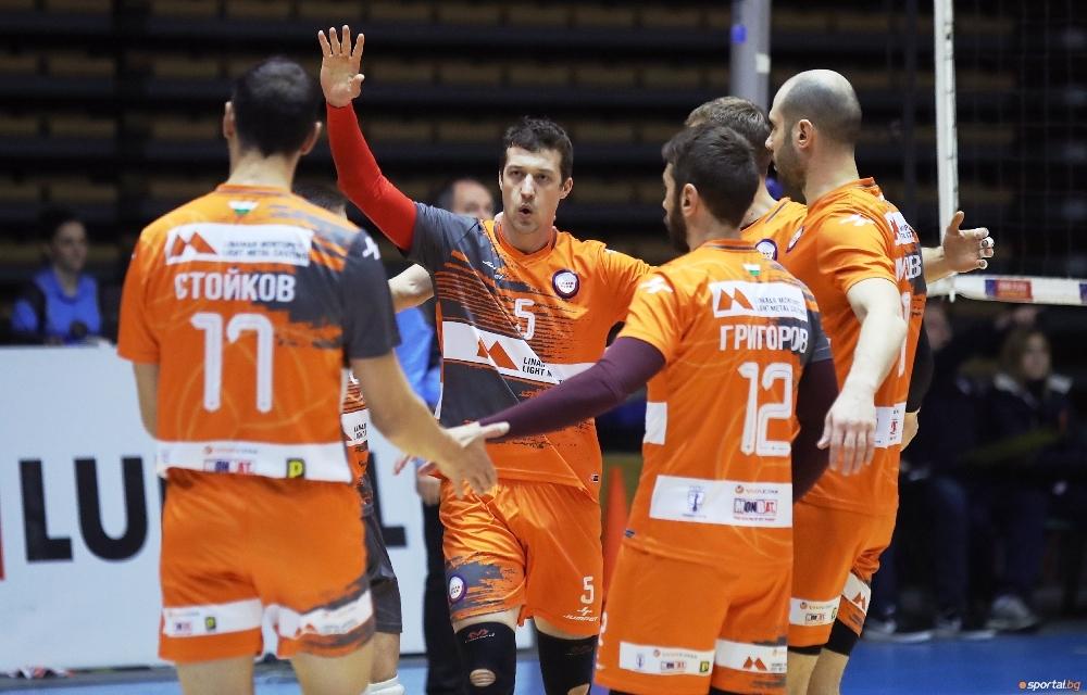 Волейболният отбор на Дунав (Русе) записа 5-а победа в Суперлигата
