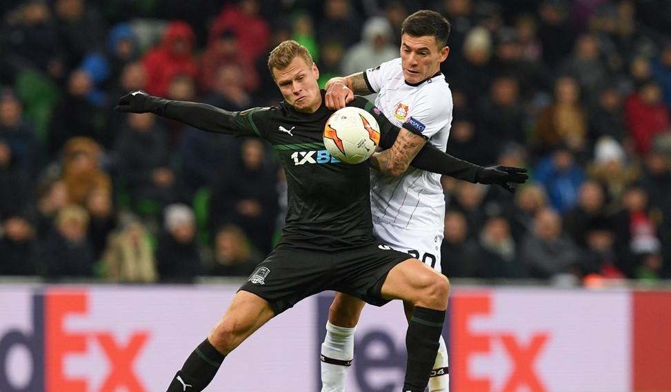 В първа битка от 1/16-финалите в Лига Европа Краснодар и