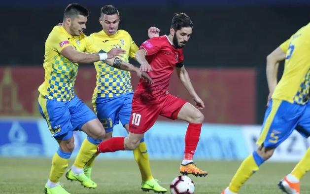 В мач от 21-ия кръг на хърватското първенство Горица и
