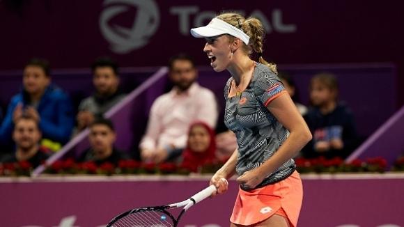 Белгийката Елизе Мертенс спечели титлата от турнира по тенис на