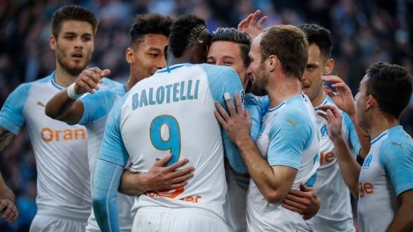 Марио Балотели продължава с впечатляващото си представяне за Олимпик Марсилия