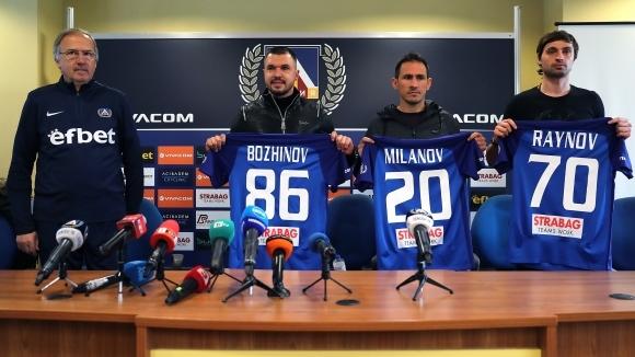 Наставникът на Левски Георги Дерменджиев определи група от 18 играчи