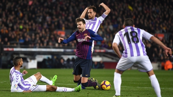 Испанският първенец Барселона изигра един от невпечатляващите си мачове този