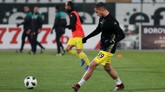 Отборът на Ботев (Пловдив) се събра за тренировка по-малко от