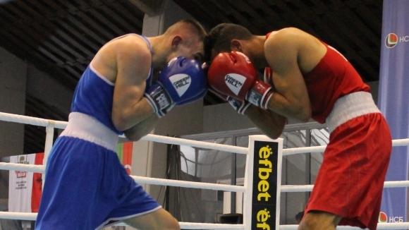 Най-добрият български боксьор в категория до 60 кг Кирил Русинов