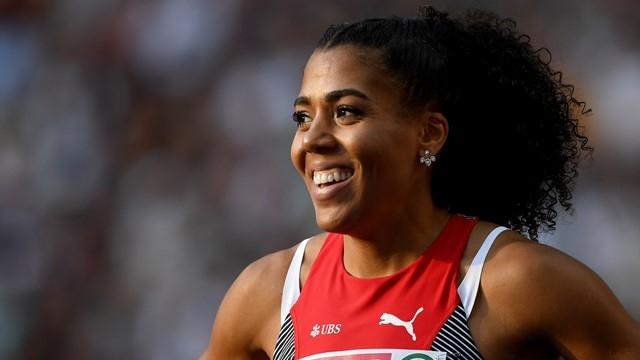 Финалът на 60 метра при жените на Европейското първенство по
