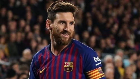 Футболна обувка на звездата на Аржентина и Барселона Лионел Меси