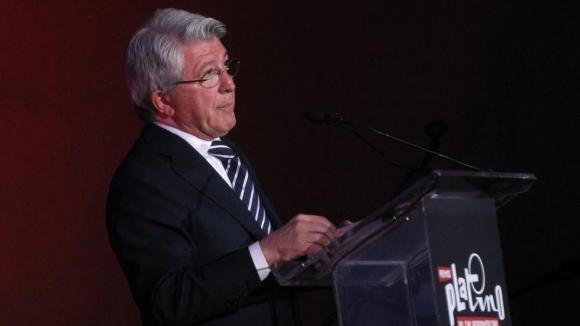 Президентът на Атлетико Мадрид Енрике Сересо е амбициран за краен