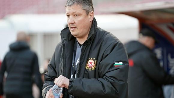 Наставникът на ЦСКА-София Любослав Пенев постигна първа победа откакто пое