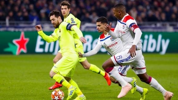 Лион приема Барселона в първи 1/8-финал от Шампионската лига. Треньорът