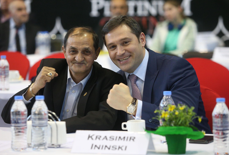 Президентът на Българската федерация по бокс Красимир Инински изрази задоволството