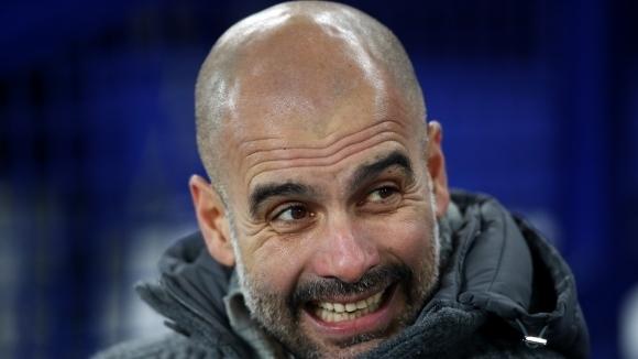 Мениджърът на Манчестър Сити Хосеп Гуардиола демонстрира сериозно самочувствие и