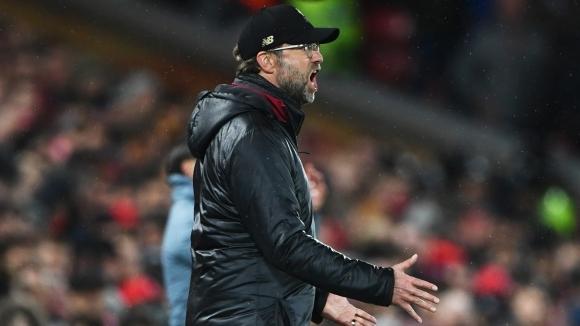 Мениджърът на Ливърпул Юрген Клоп заяви, че резултатът 0:0 срещу