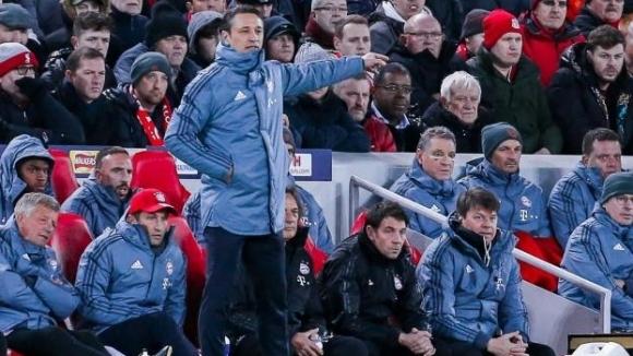 Треньорът на Байерн Мюнхен Нико Ковач изрази задоволството си от