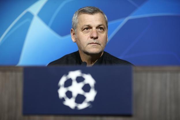 Треньорът на Лион Брюно Женесио изрази умерен оптимизъм след 0:0