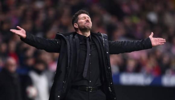 Треньорът на Атлетико Мадрид Диего Симеоне обяви, че отборът му