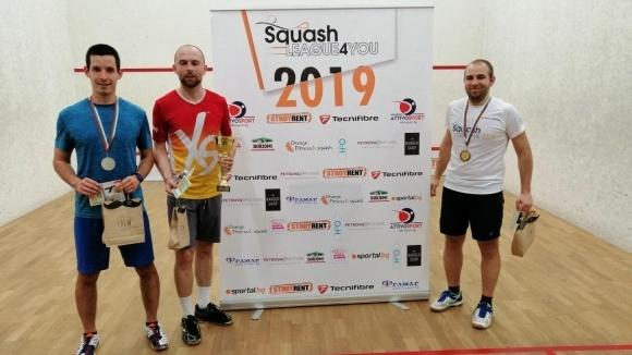 Снимка: 86 състезатели участваха в първия кръг на Squash League 4 You 2019