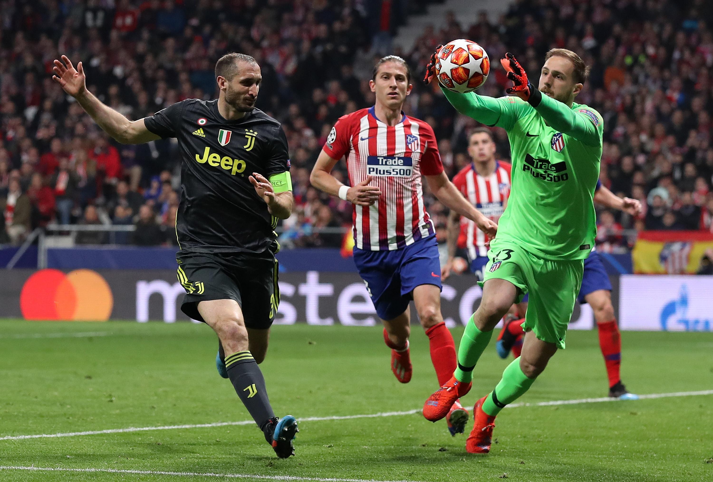 Вратарят на Атлетико Мадрид Ян Облак беше в повишено настроение
