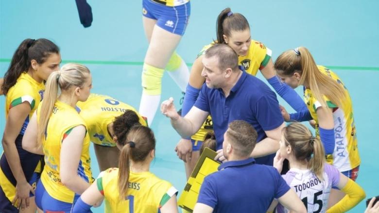 Треньорът на ВК Марица Иван Петков коментира победата на тима