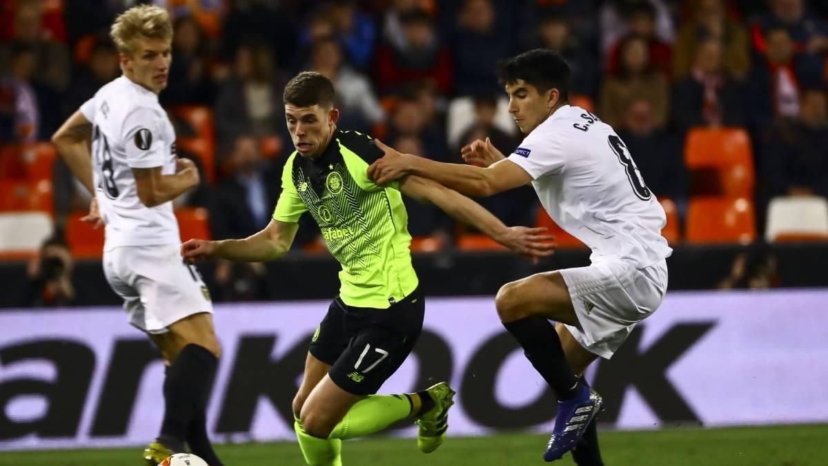 Отборът на Валенсия спечели и реванша срещу Селтик от 1/16-финалите