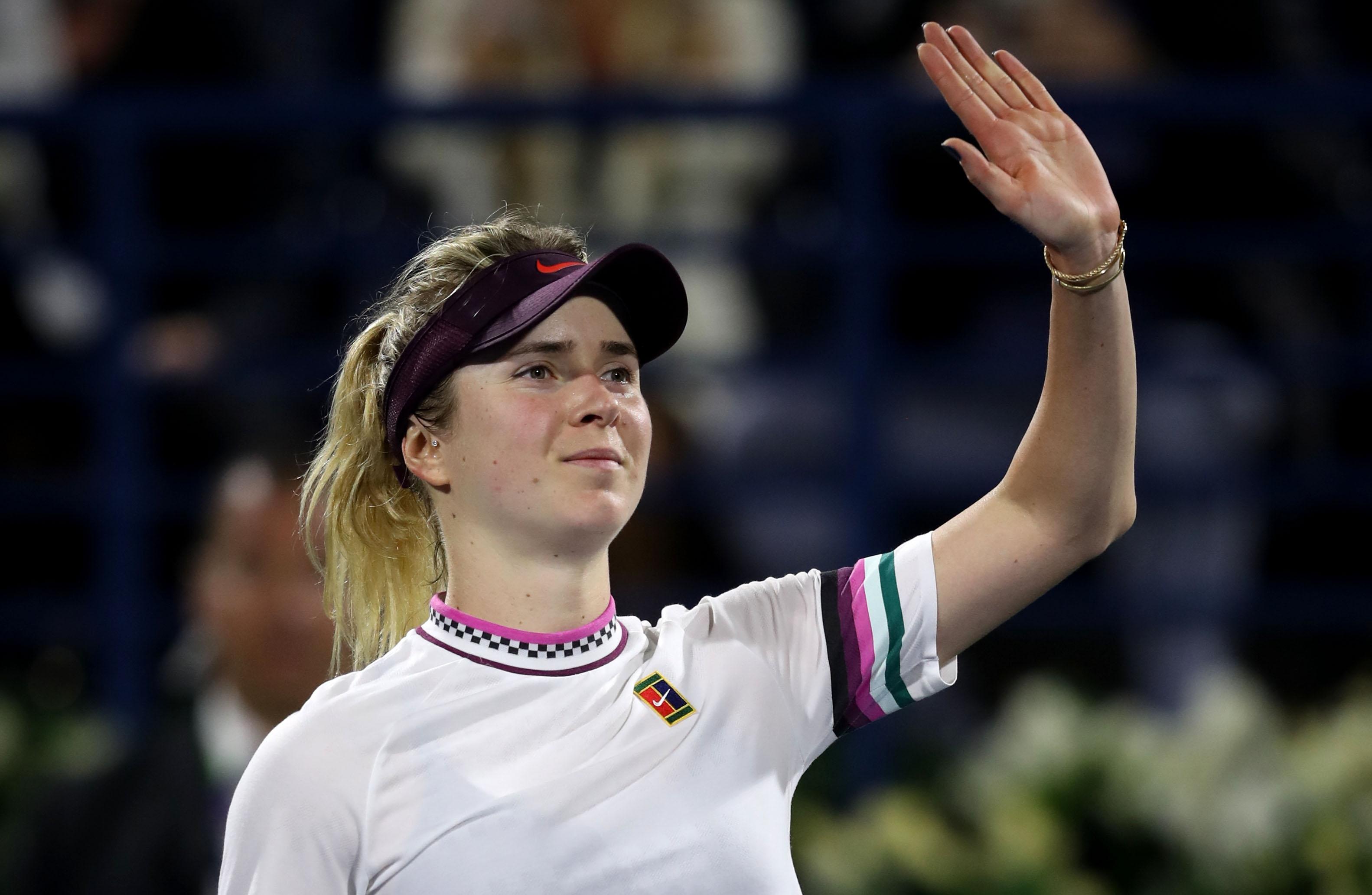 Двукратната шампионка и защитаваща титлата си Елина Свитолина (Украйна) се