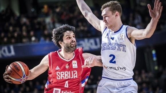 Милош Теодосич отново игра за националния отбор на Сърбия, но