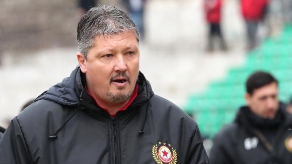 Наставникът на ЦСКА-София Любослав Пенев се завърна в родния футбол