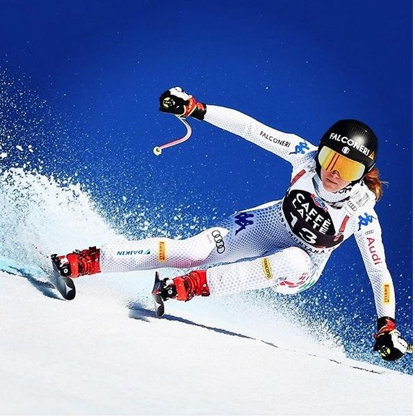 Олимпийската шампионка от Пьончан 2018 София Годжа (Италия) спечели спускането