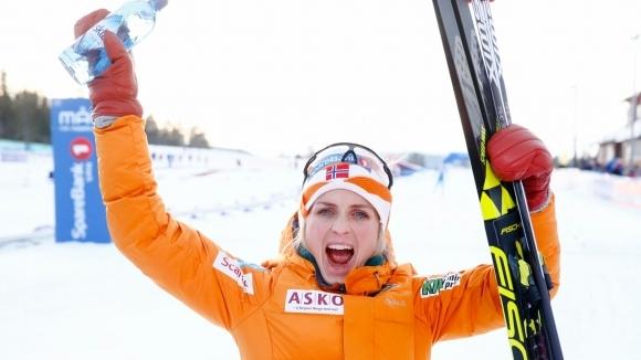 Норвежката Терезе Йохауг стана шампионка в скиатлона на 15 км