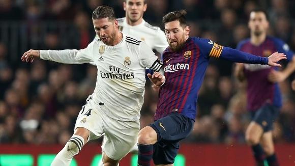 Аржентинската мегазвезда на Барселона Лионел Меси и капитанът на Реал