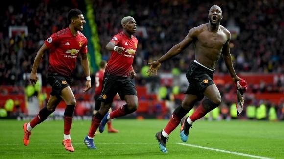 Манчестър Юнайтед взе трудна и ценна победа с 3:2 над