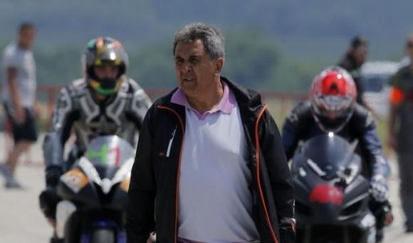 Бившият европейски и световен шампион по мотоциклетизъм Богдан Николов беше