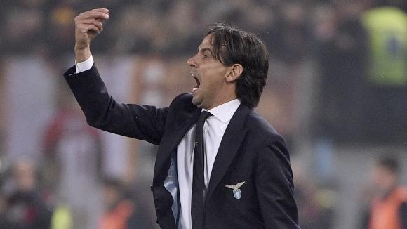 Треньорът на Лацио Симоне Индзаги бе във възторг от успеха