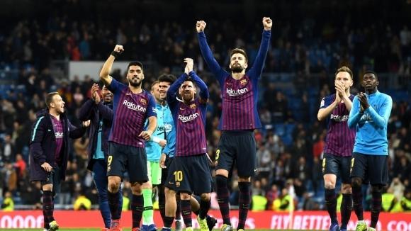Централният защитник на Барселона Жерард Пике изигра колосален мач снощи