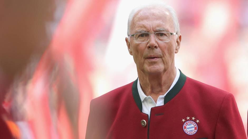Легендата на германския футбол и почетен президент на Байерн (Мюнхен)