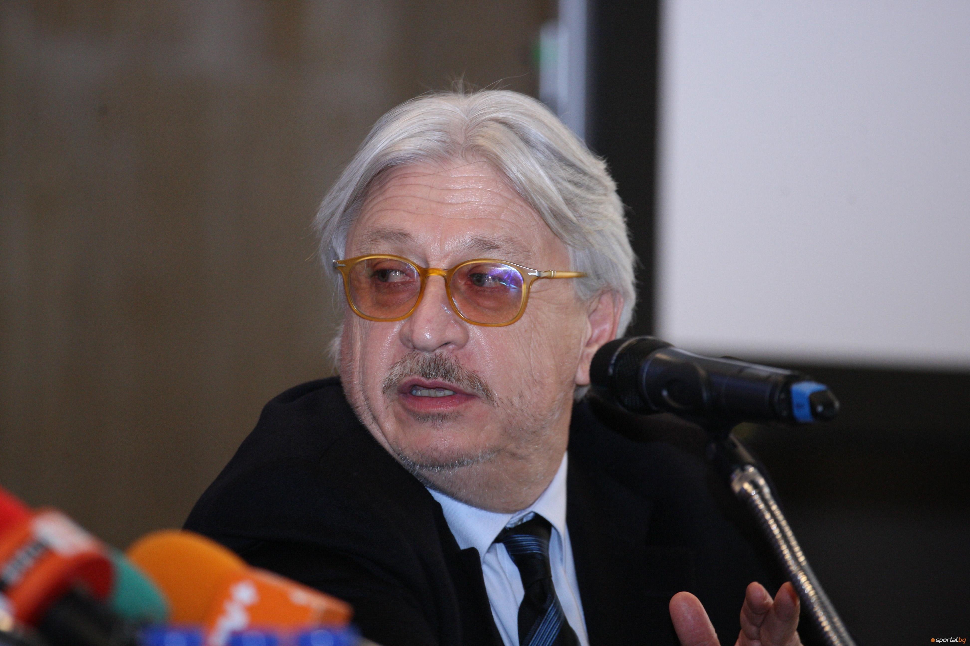 Новият член на Надзорния съвет на Левски Александър Тумпаров говори