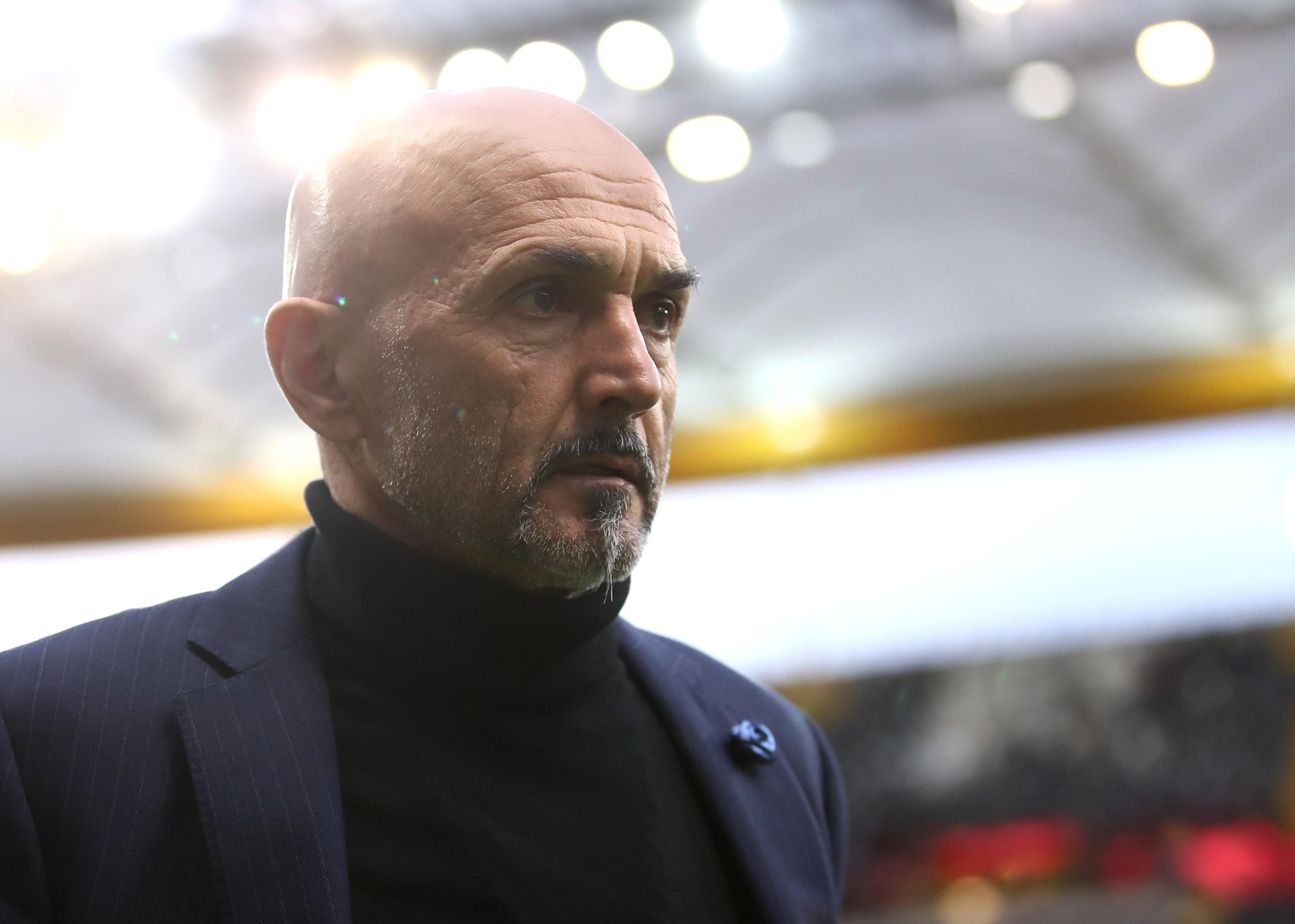 Треньорът на Интер Лучано Спалети не успя да получи победа