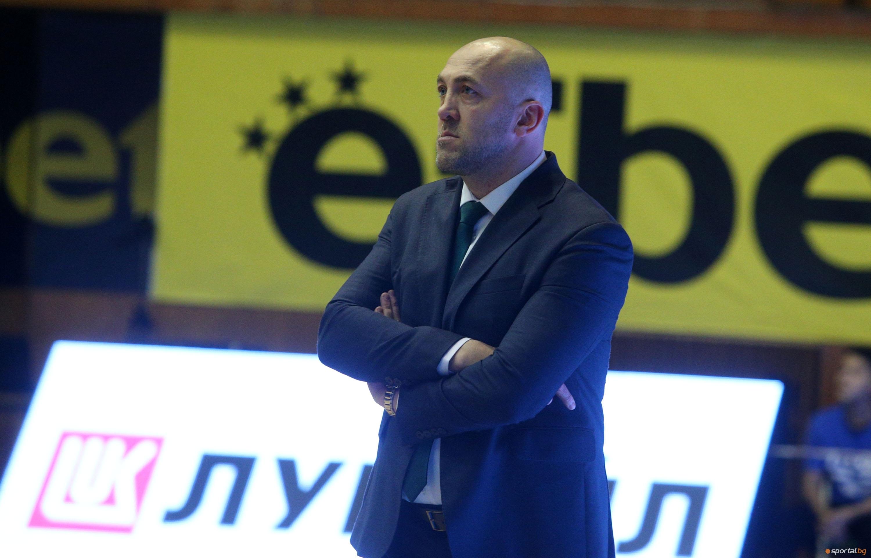 Старши-треньорът на Балкан (Ботевград) Небойша Видич не бе доволен от