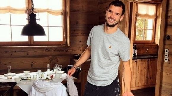 Първата ракета на българския тенис Григор Димитров така и не