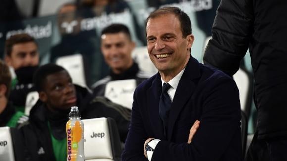 Наставникът на Ювентус Масимилиано Алегри призна, че отборът ще разчита