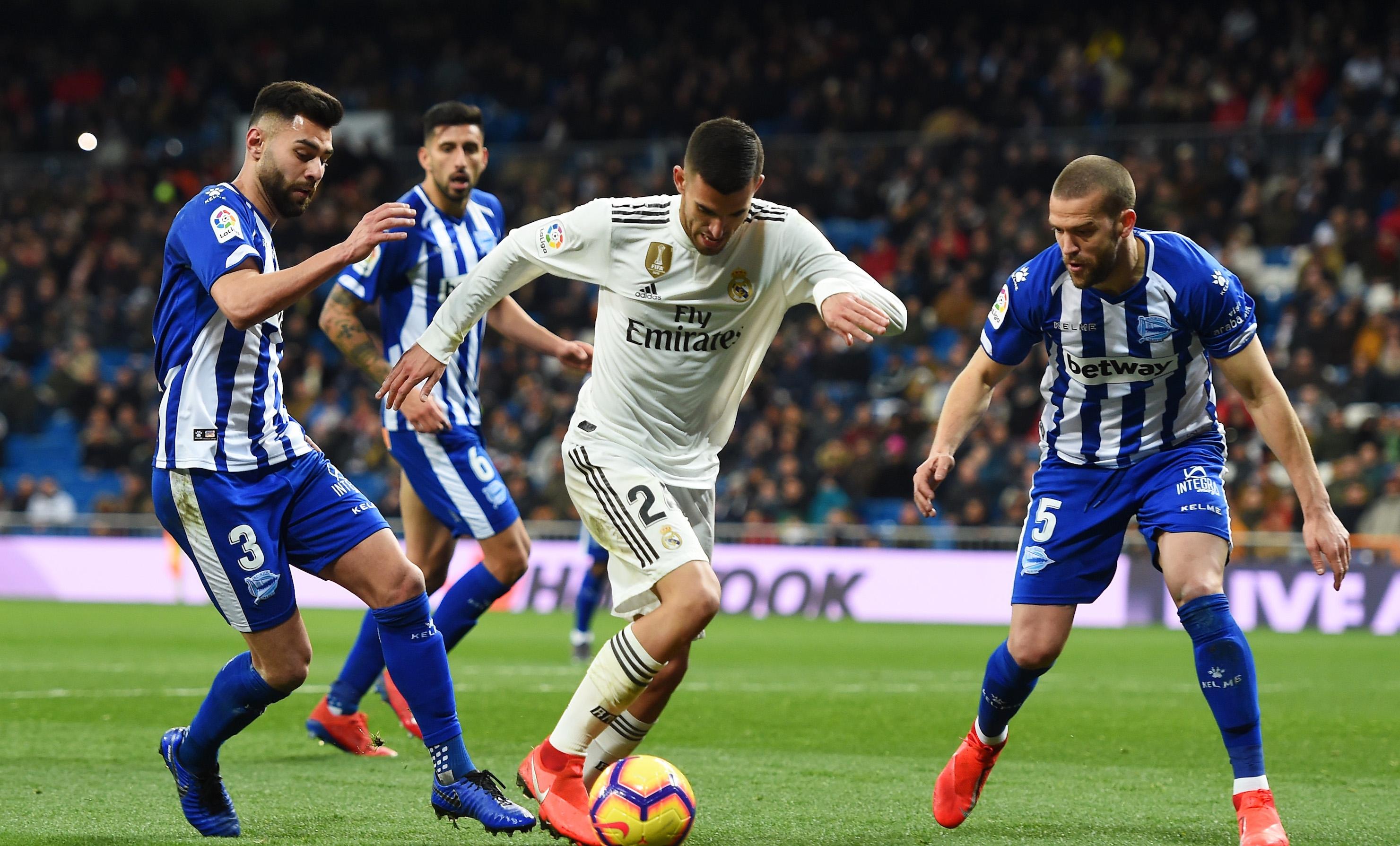 Привържениците и повечето футболисти на Реал Мадрид са в приповдигнато