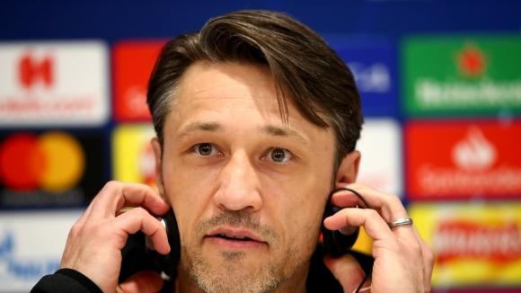 Наставникът на Байерн (Мюнхен) Нико Ковач демонстрира спокойствие преди утрешния