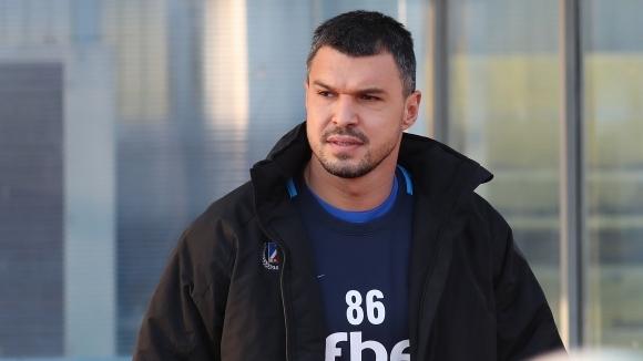 Нападателят на Левски Валери Божинов заяви, че вярва в бъдещия